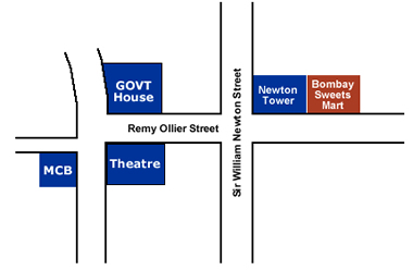 Bombay Sweets Location Plan
